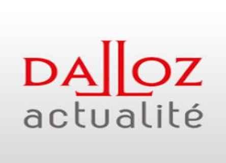 Revue Dalloz actualité